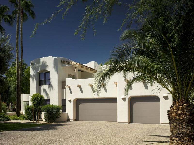 Residential Raised Panel Garage Door Gallery