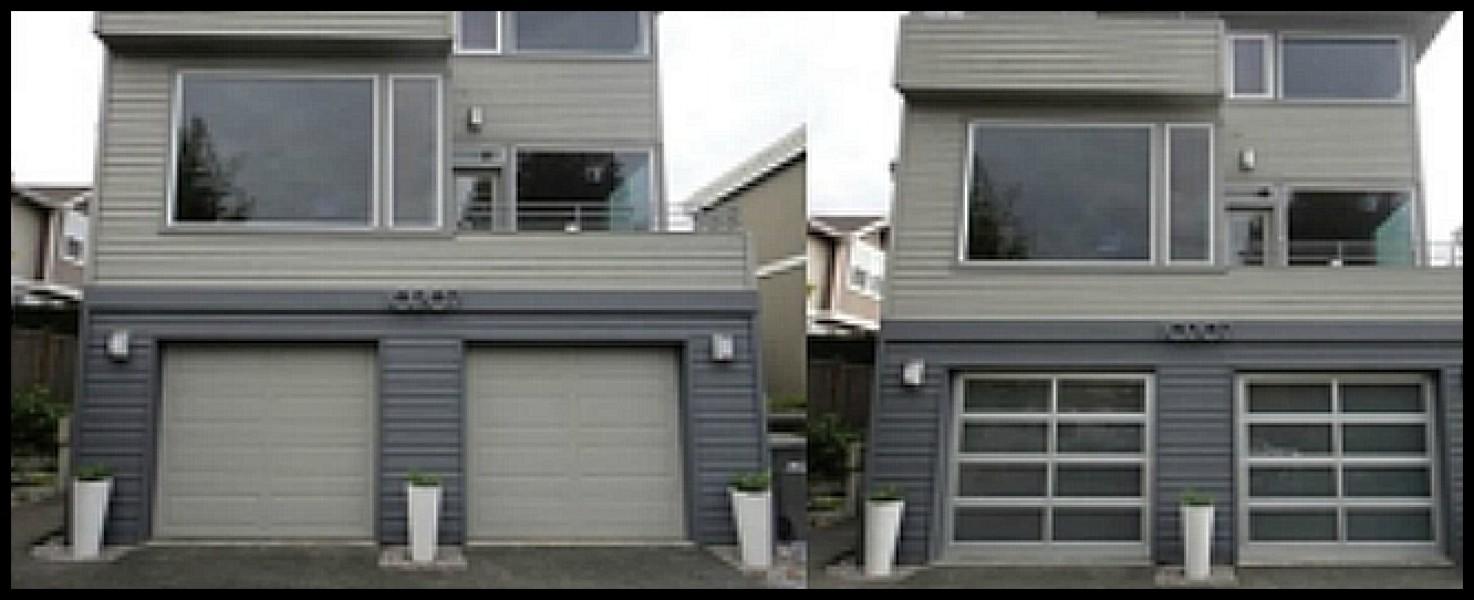 Residential Before Amp After Garage Door Gallery