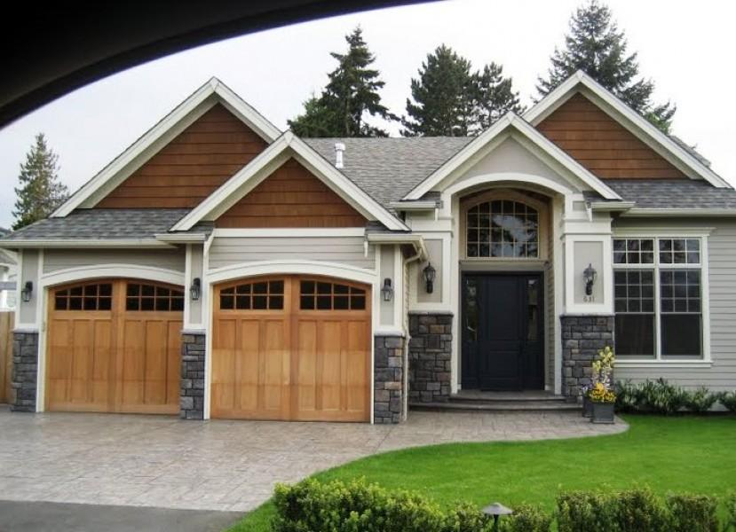 Residential Carriage Style Garage Door Gallery