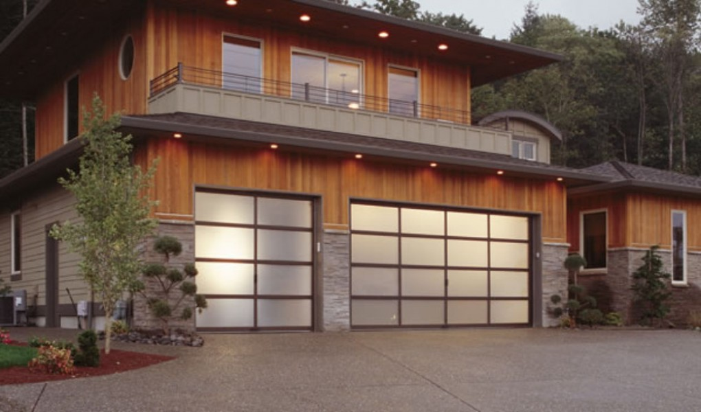 Residential Glass Garage Door Gallery