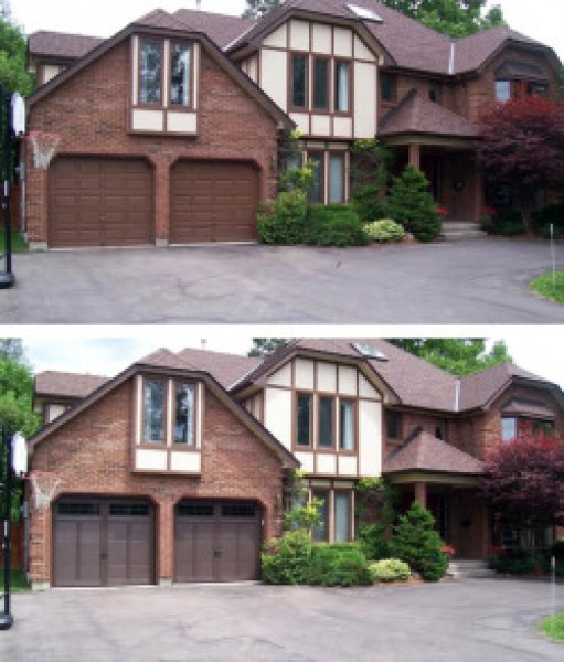 Residential Before Amp After Garage Door Gallery