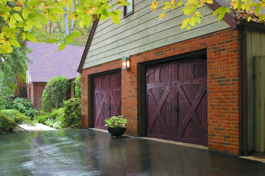 Residential Carriage Style Garage Door Gallery