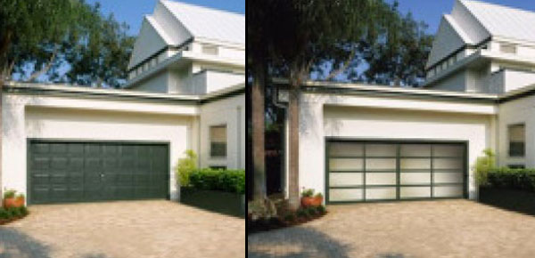 Before and After - Garage Door Makeovers